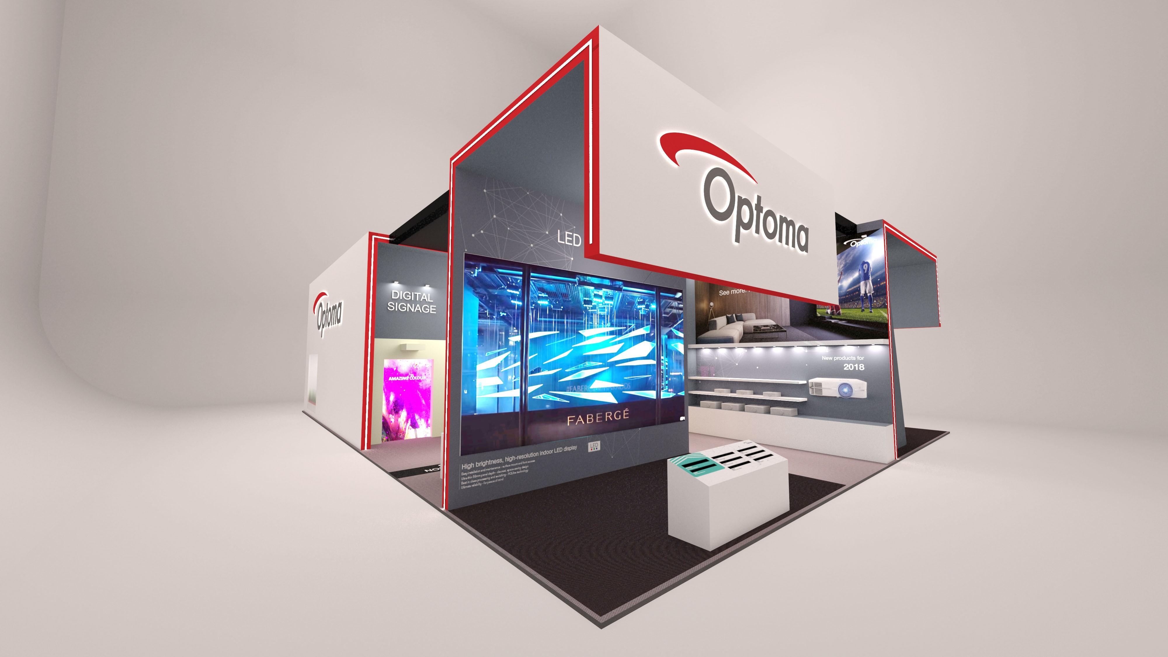Новинки компании Optoma на международной выставке ISE 2018