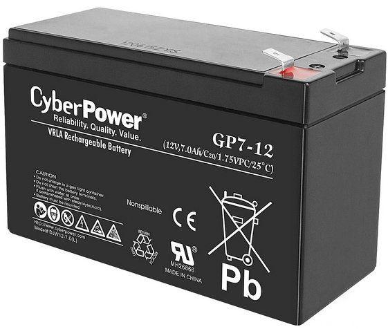 Аккумулятор CyberPower (GP7-12)