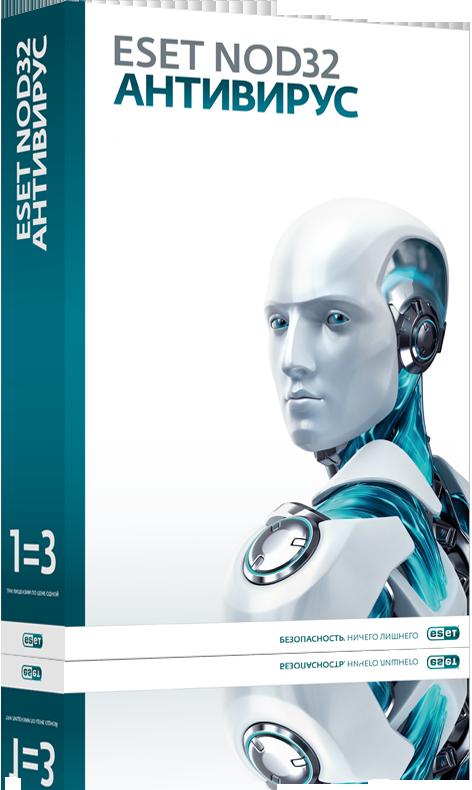 ESET NOD32 Антивирус на 3 ПК / продление на 20 мес (NOD32-ENA-1220(BOX)-1-1)