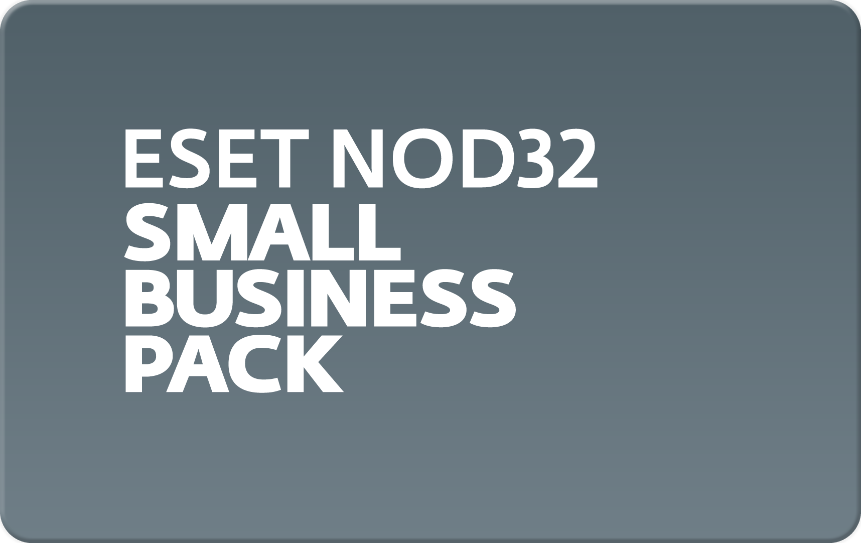 ESET NOD32 Small Business Pack для 10 пользователей (NOD32-SBP-NS(CARD)-1-10)