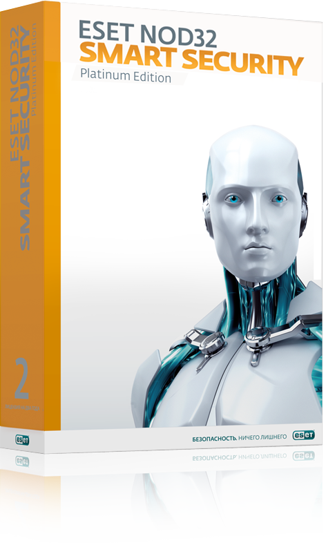 ESET NOD32 Smart Security Platinum Edition на 3 ПК (NOD32-ESS-NS(BOX)-2-1)