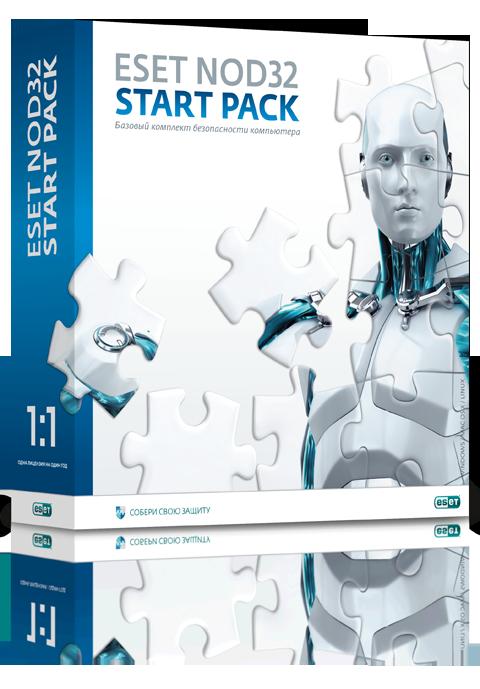 ESET NOD32 START PACK для 1 ПК (NOD32-ASP-NS(BOX)-1-1)