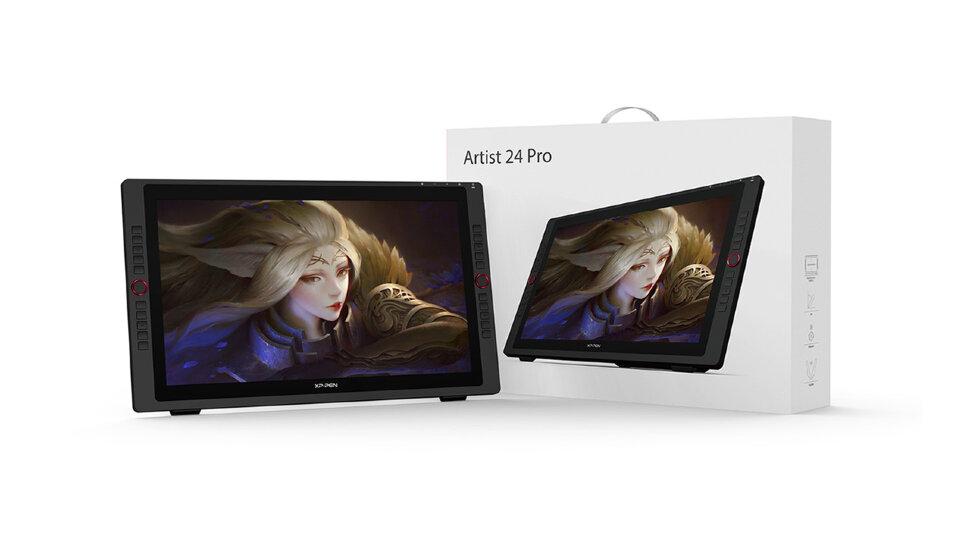 Графический дисплей XP-Pen Artist 24 PRO 2K QHD (Artist24Pro_EU)