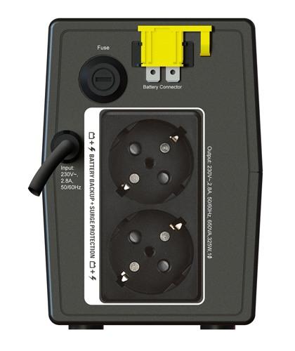 ИБП APC Back-UPS 650VA/325W (BX650LI-GR)