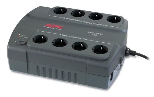 ИБП APC Back-UPS ES 400VA/240W (BE400-RS)