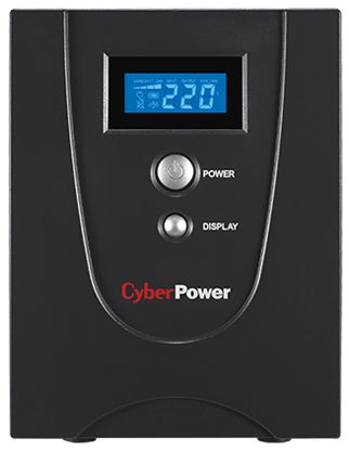 ИБП CyberPower VALUE 1500EI 1500VA/900W (VALUE1500EILCD)