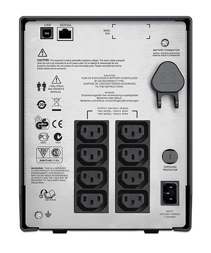 ИБП Smart-UPS C 1500VA/900W, 230V (SMC1500I)