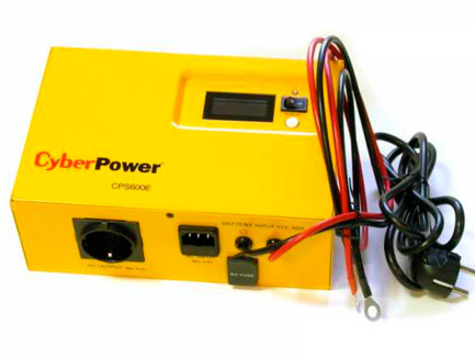 Инвертор Cyber Power 600VA/420W (CPS600E)