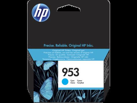 Картридж HP 953, голубой (F6U12AE)