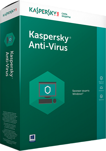 Kaspersky Anti-Virus на 2 ПК на 1 год (KL1171RBBFS)