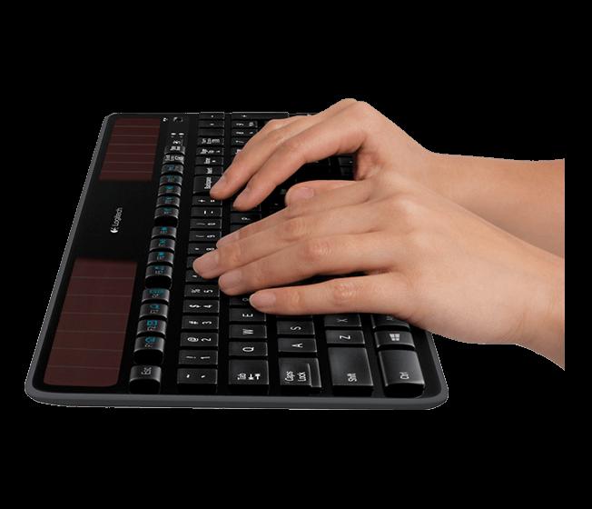 Клавиатура Logitech Wireless SOLAR K750 (920-002938)