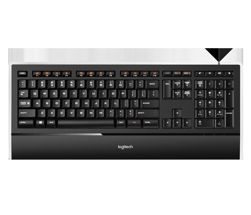 Клавиатура Logitech K740 (920-005695)