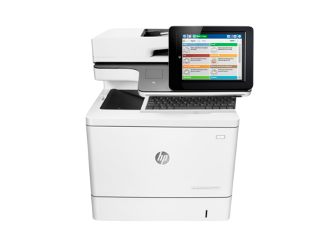 МФУ HP Color LaserJet Enterprise M577c (B5L54A)