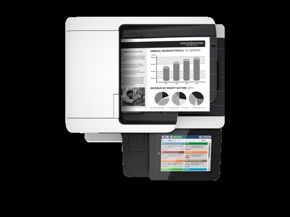 МФУ HP LaserJet Enterprise M527f (F2A77A)