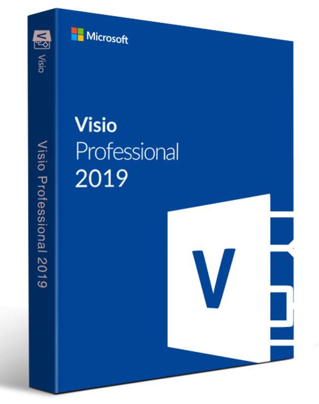 Microsoft Visio Professional 2019 FPP (D87-07414)