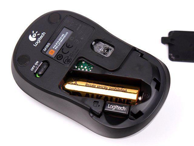 Мышь Logitech M185 (910-002240)