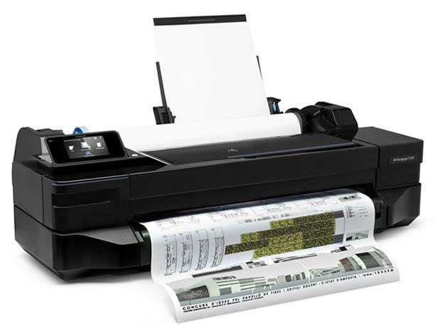 Плоттер HP Designjet T120, 24