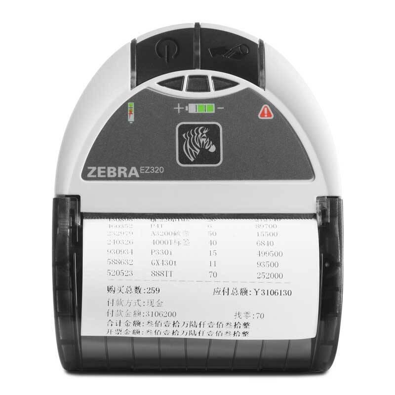 Принтер чеков Zebra EZ320 (L8D-0UB0E060-00)