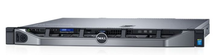 Сервер Dell PowerEdge R230 (R230-AEXB-630-11)