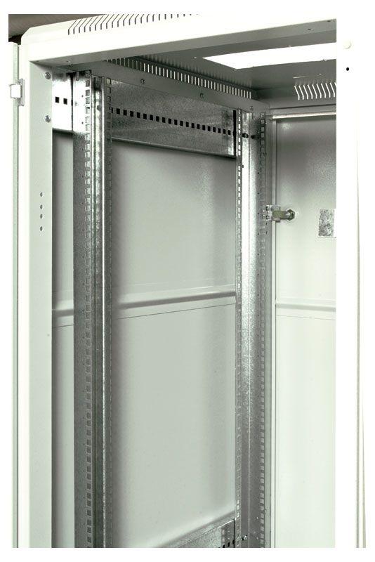 Шкаф ЦМО напольный 27U 600x1000 (ШТК-М-27.6.10-1ААА)