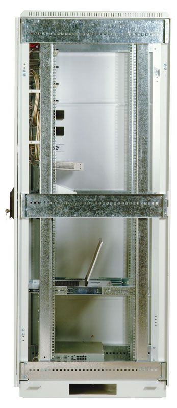 Шкаф ЦМО напольный 33U 600x800 (ШТК-М-33.6.8-3ААА)