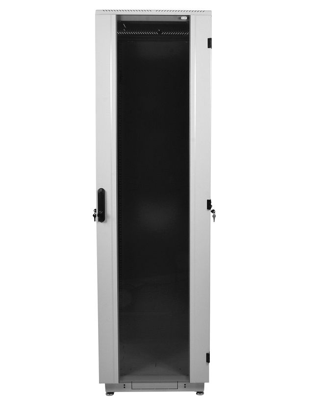 Шкаф ЦМО напольный 42U 600x1000 (ШТК-М-42.6.10-1ААА)