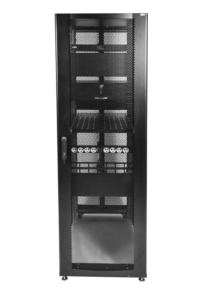 Шкаф ЦМО напольный 42U 600x1000 (ШТК-СП-42.6.10-44АА-9005)