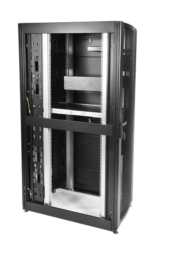 Шкаф ЦМО напольный 42U 600x1200 (ШТК-СП-42.6.12-44АА-9005)