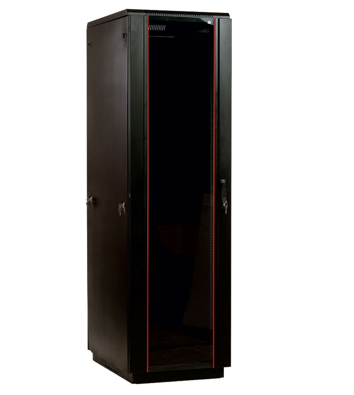 Шкаф ЦМО напольный 42U 800x1000 (ШТК-М-42.8.10-1ААА-9005)