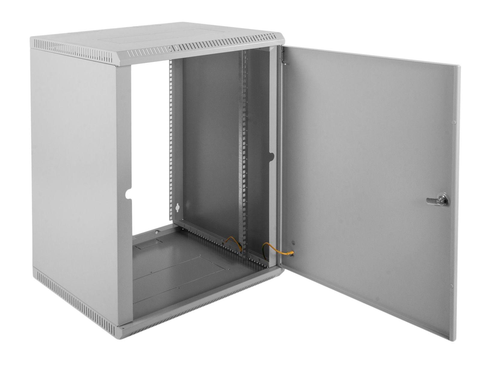 Шкаф ЦМО настенный 18U 600х350 (ШРН-Э-18.350.1)