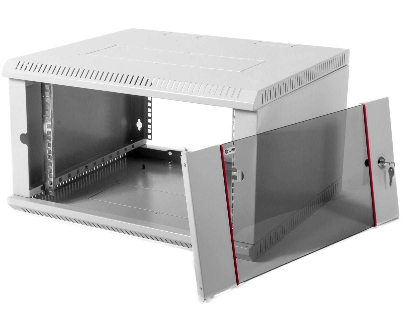 Шкаф ЦМО настенный 9U 600х350 (ШРН-Э-9.350)