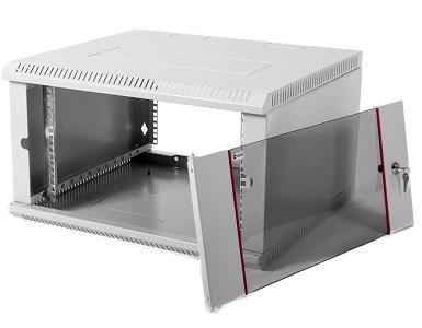 Шкаф ЦМО настенный 6U 600х350 (ШРН-Э-6.350)
