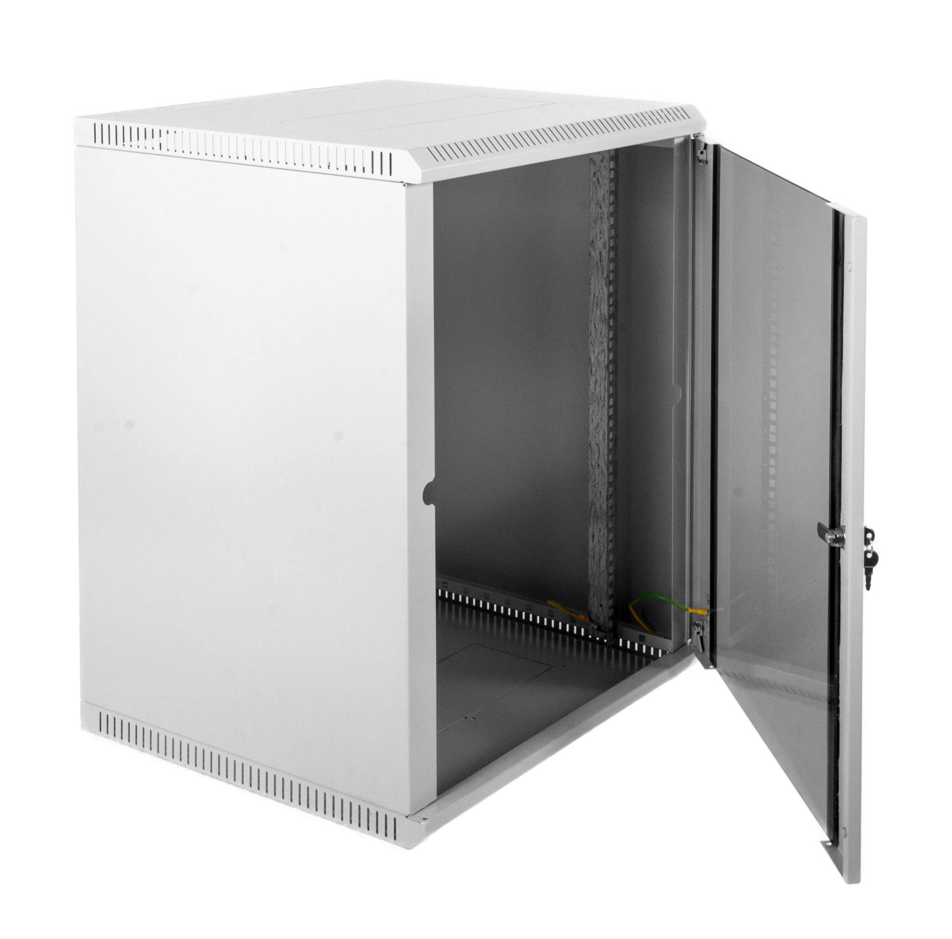 Шкаф ЦМО настенный 12U 600х650 (ШРН-Э-12.650)