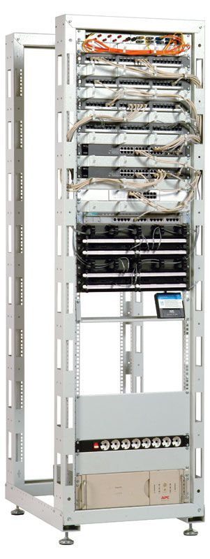 Стойка ЦМО универсальная 33U двухрамная (СТК-33.2)