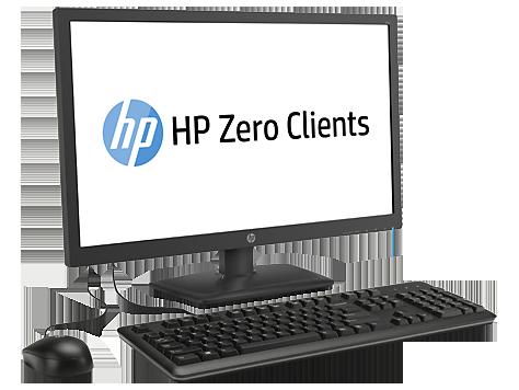 Тонкий клиент HP t310 AiO (23.6