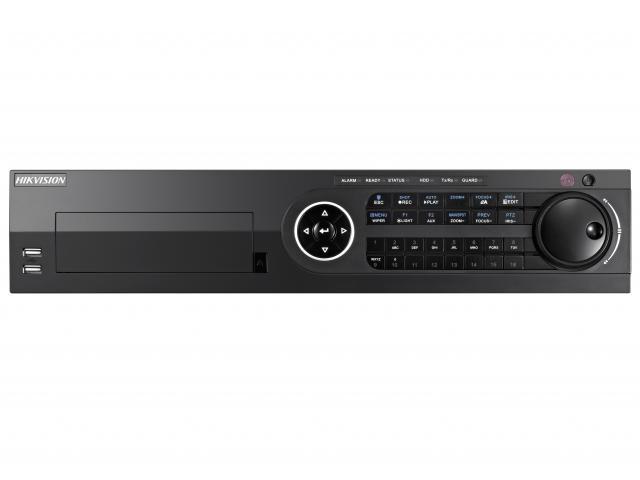 Видеорегистратор гибридный Hikvision 16 каналов (DS-8116HQHI-F8/N)