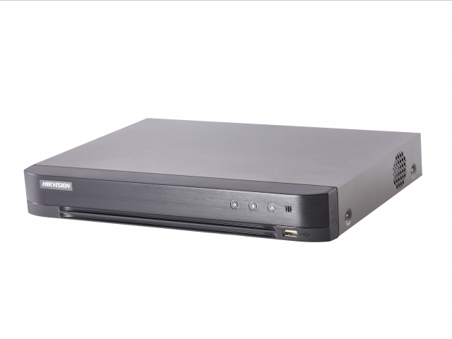 Видеорегистратор гибридный Hikvision 4 канала (DS-7204HUHI-K1/P)