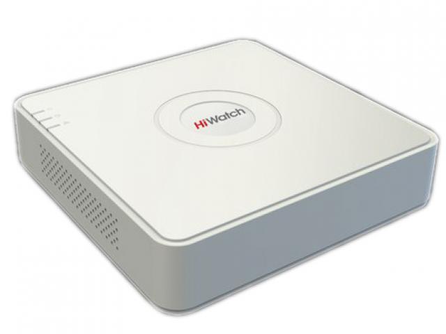 Видеорегистратор гибридный HiWatch 8 каналов (DS-H208Q)