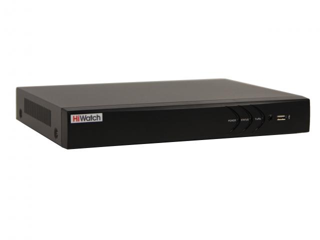 Видеорегистратор сетевой HiWatch 4 канала (DS-N304P)