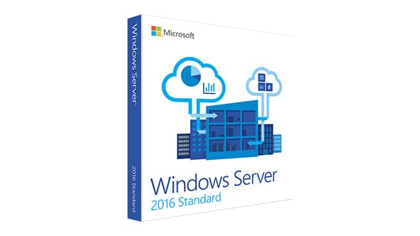 Windows Server Standard 2016 FPP 10Clt (P73-07081)