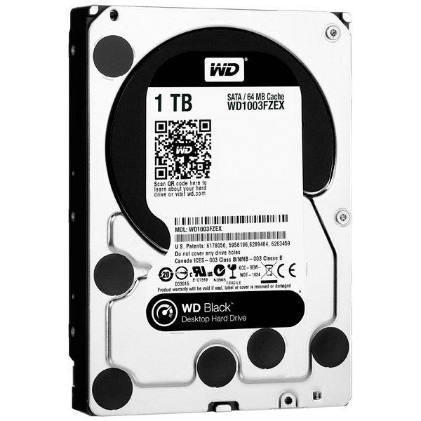 Жесткий диск HDD Western Digital Black 1000 ГБ 3.5