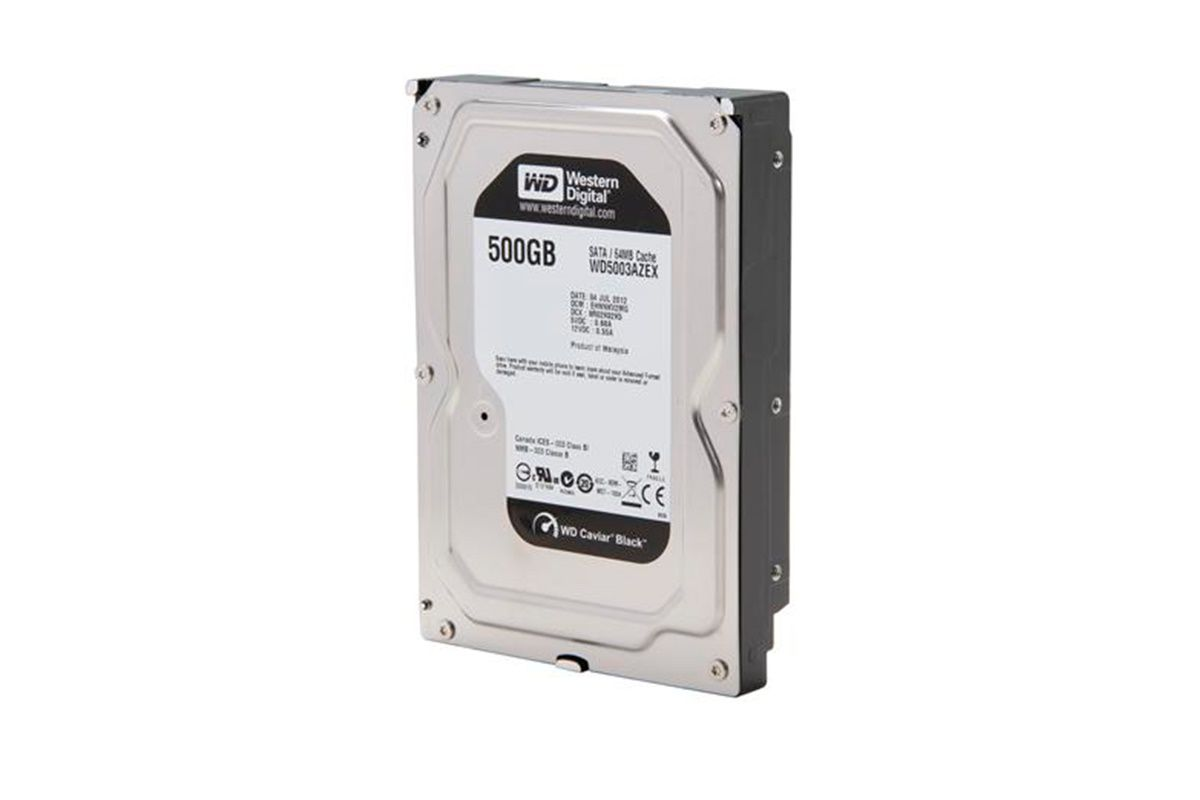 Жесткий диск HDD Western Digital Black 500 ГБ 3.5