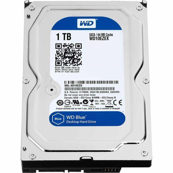 Жесткий диск HDD Western Digital Blue 1000 ГБ 3.5