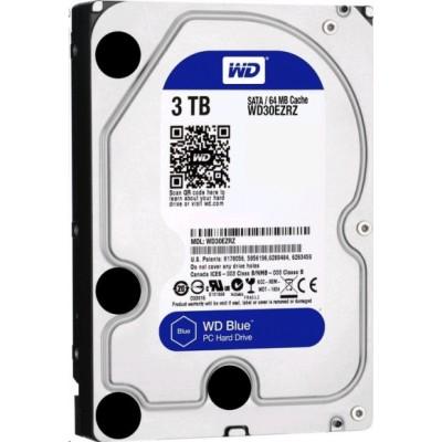 Жесткий диск HDD Western Digital Blue 3000 ГБ 3.5