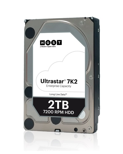 Жесткий диск HDD Western Digital Ultrastar 2000 ГБ 3.5