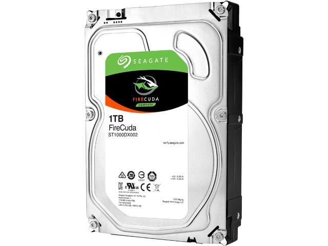 Жесткий диск SSHD Seagate FireCuda 1000 ГБ 3.5