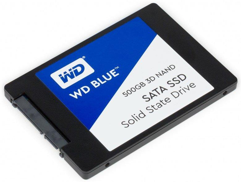 Жесткий диск SSD Western Digital Blue 500 ГБ 2.5