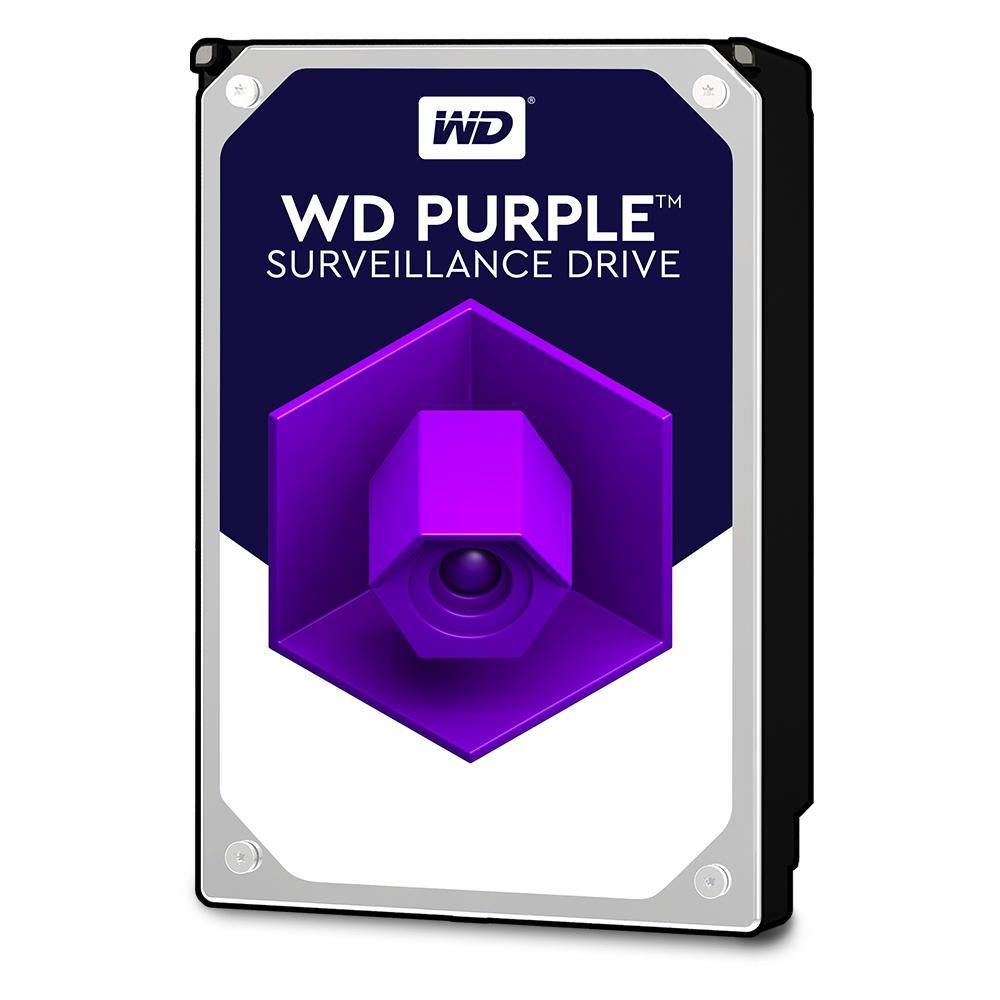 Жесткий диск HDD Western Digital Purple 8000 ГБ 3.5